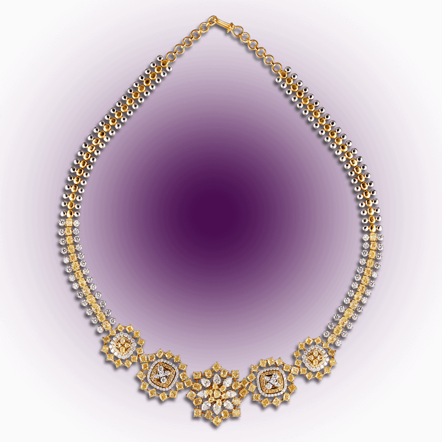 Charming Diamond Necklace